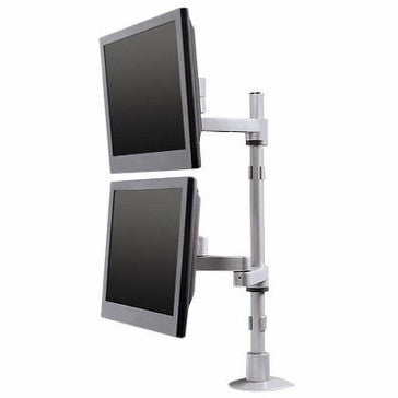 9112-D-FM-Dual Monitor Pole Mount