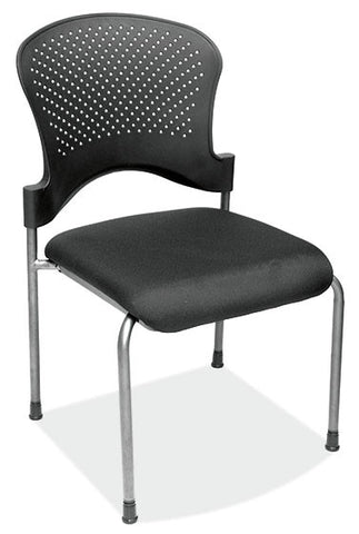 BLK GUEST/SIDE CHAIR W/O ARMS
