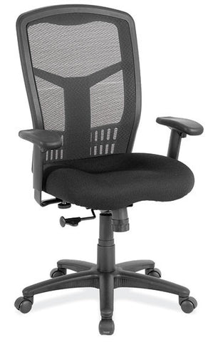 COOLMESH SYNCHRO HI-BACK CHAIR WITH BLACK FRAME