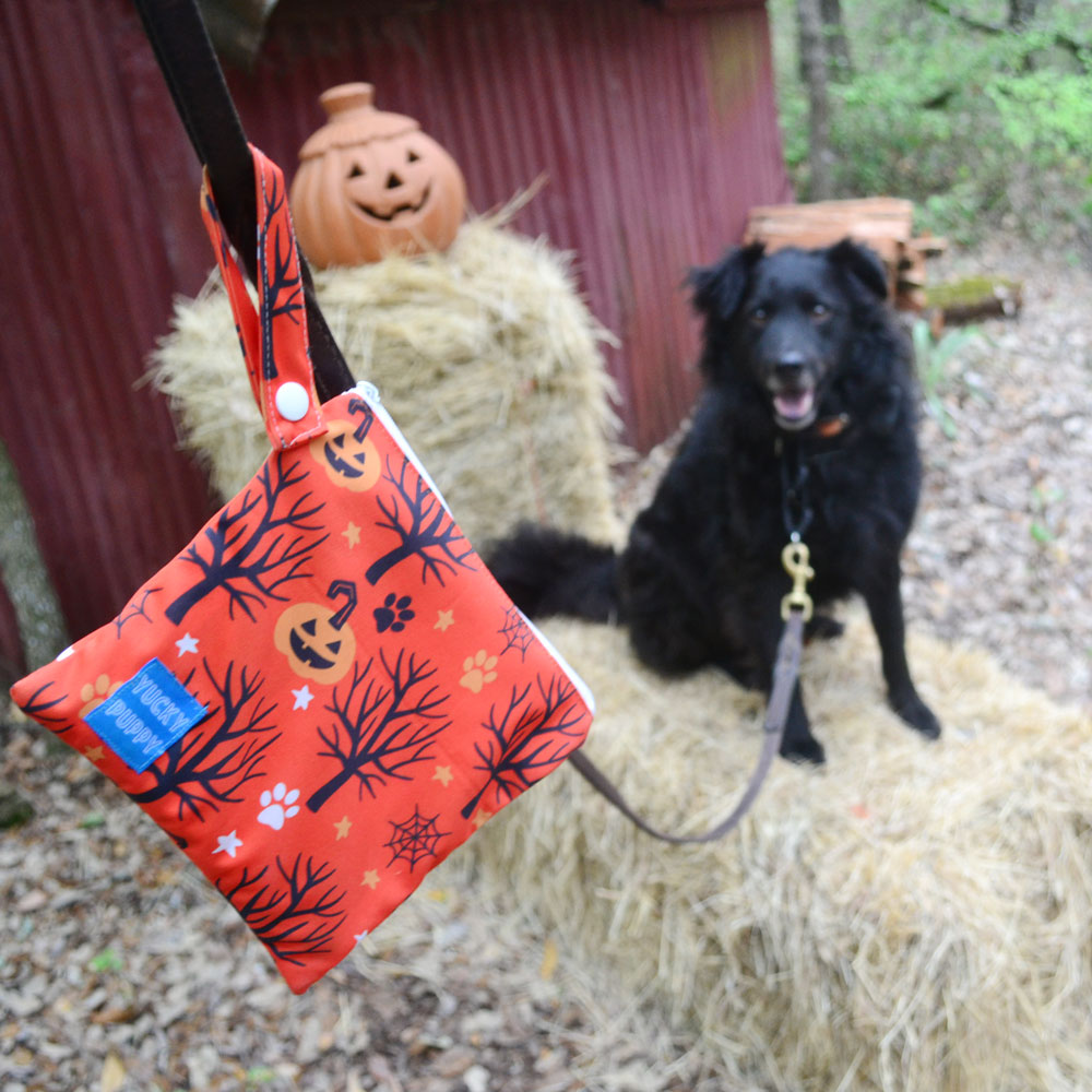 Win a Set of Halloween YUCKY PUPPY Poop Bag Carriers!