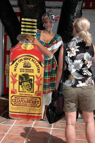 shopping for guavaberry liqueur