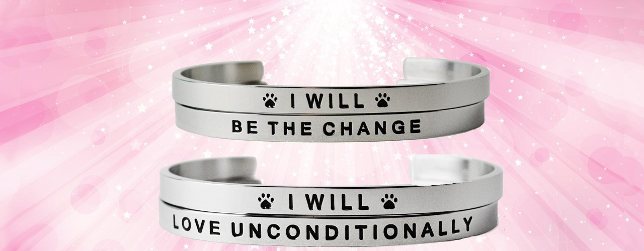 mantra bracelets for pet owners