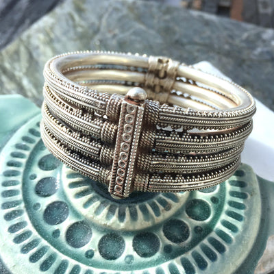 Incredible 4-Layer Sterling Silver Bracelet