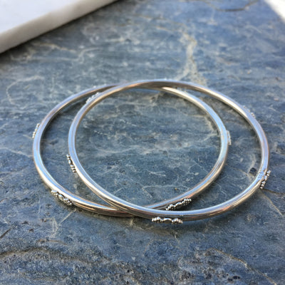 Delicate Sterling Silver Bangle
