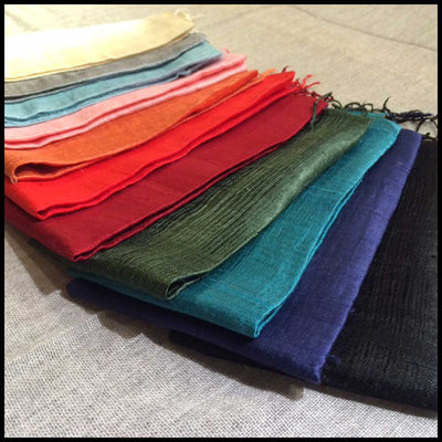 Fairtrade Thai Silk Scarves