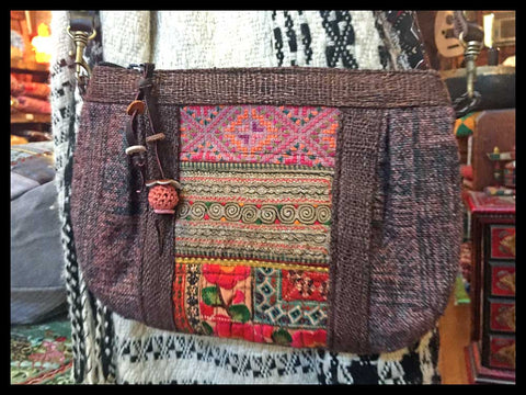 Hmong Handbags Handmade In Northern Thailand Floating Lotus