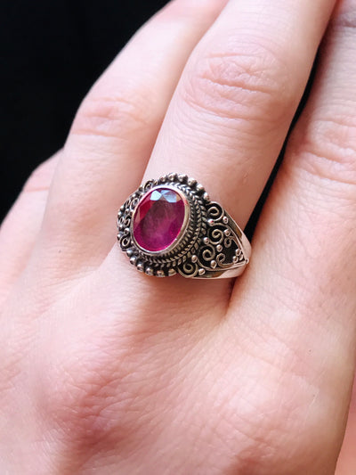 Pure Love Ruby Ring