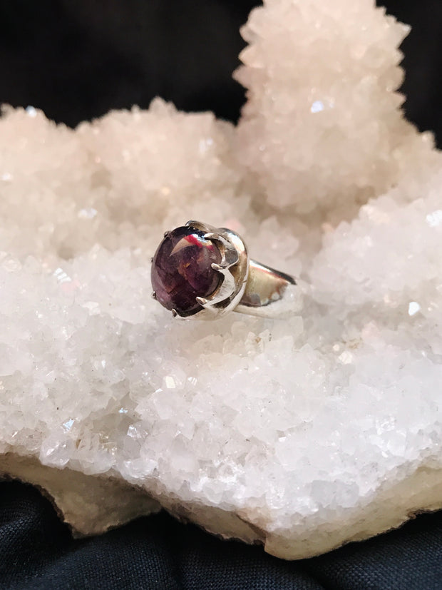 Luminous Star Ruby Ring