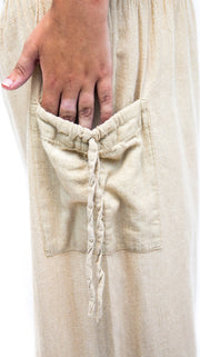 Harem Pants with Pockets - Floating Lotus