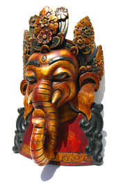 Ganesh Mask - Floating Lotus