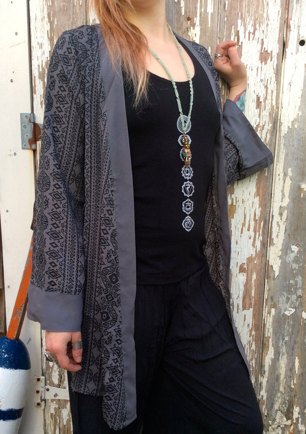 Nomad Cardigan - Floating Lotus