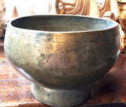 Antique Tibetan Singing Bowl - Floating Lotus