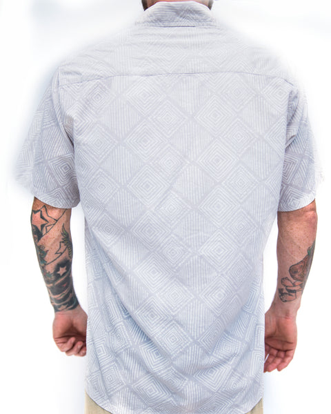 Block Printed Diamond Shirt