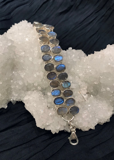 SOLD! Luminous Labradorite Bracelet