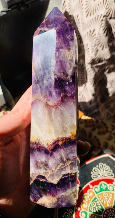Elevating Amethyst Point