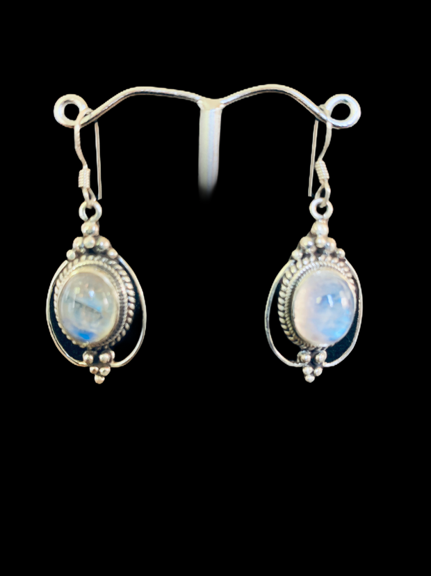 Moonstone Lace Earrings