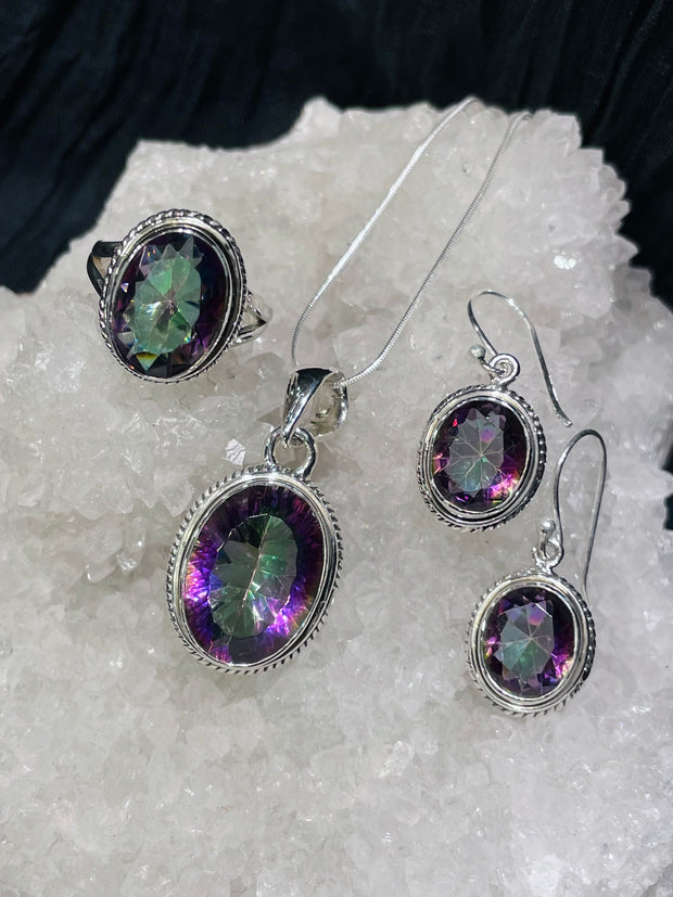 Mystic Topaz Simple Set