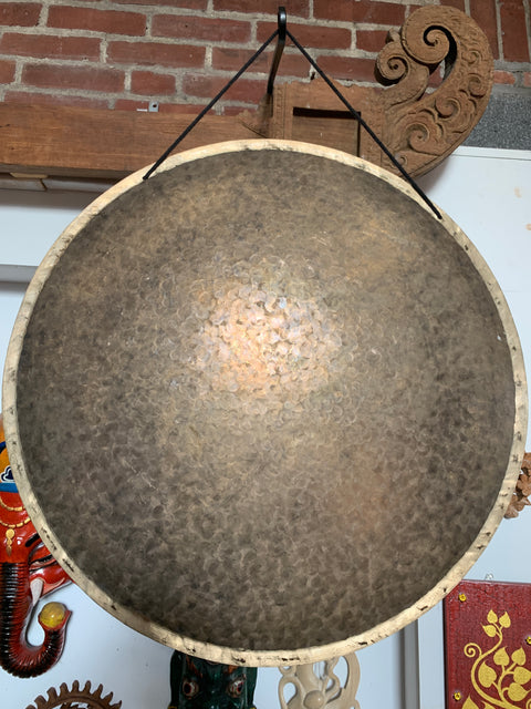 Hand Hammered Gong