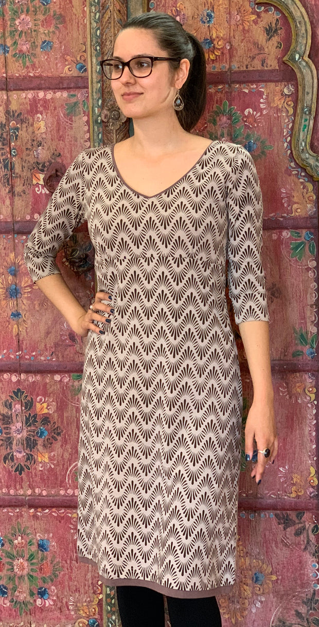 Organic Cotton Midi Dress
