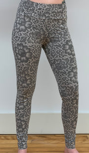 Organic Cotton Printed Leggings