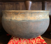 Large Antique Ulti Bati Tibetan Singing Bowl