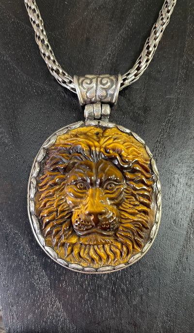 Sold! Lion's Eye Protection Pendant