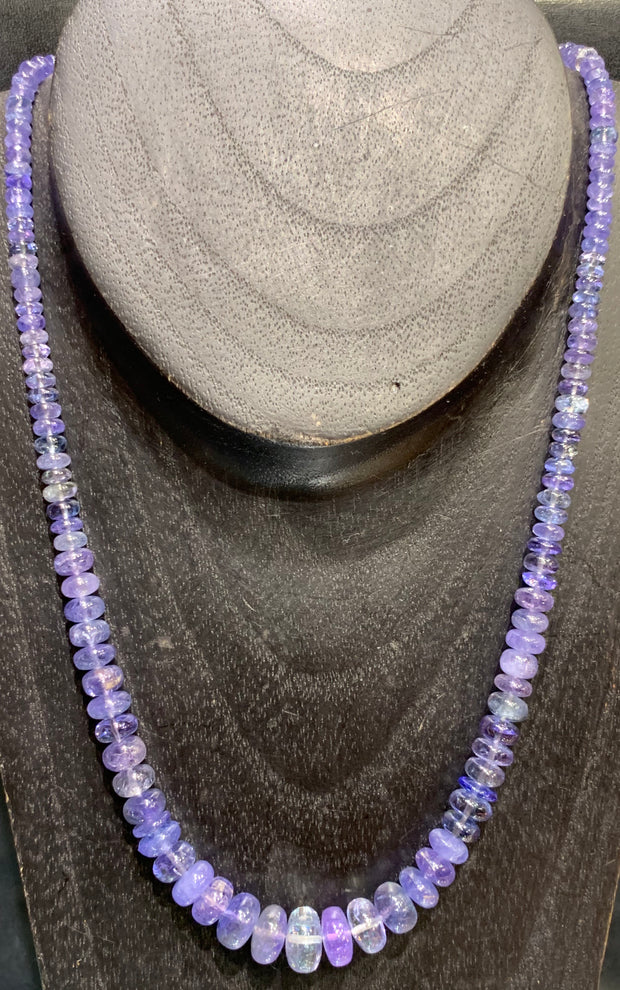 Tanzanite Necklace Newly Added! - Floating Lotus