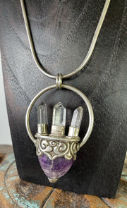 Amethyst Crystal Dream Pendant