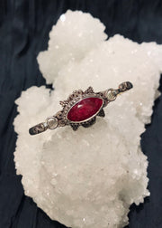 Eye of Compassion Ruby Bracelet