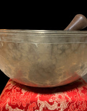 Sold! Large Antique Solar Plexus Chakra Singing Bowl