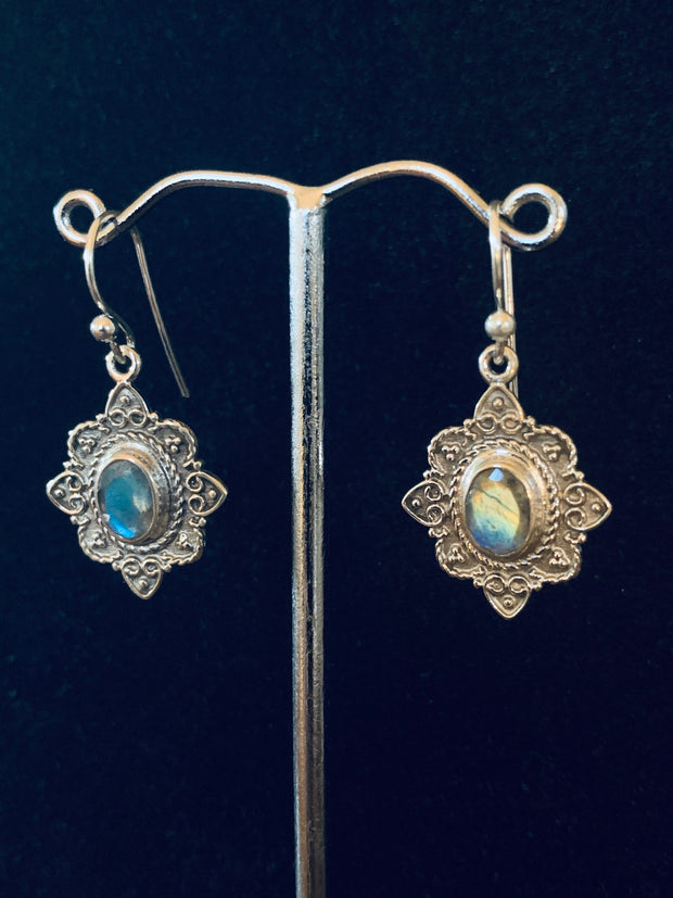 Moonstone Allure Earrings