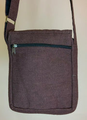 Earthy Brown Cotton Bag