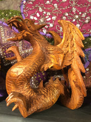 Dragon Statue - Floating Lotus