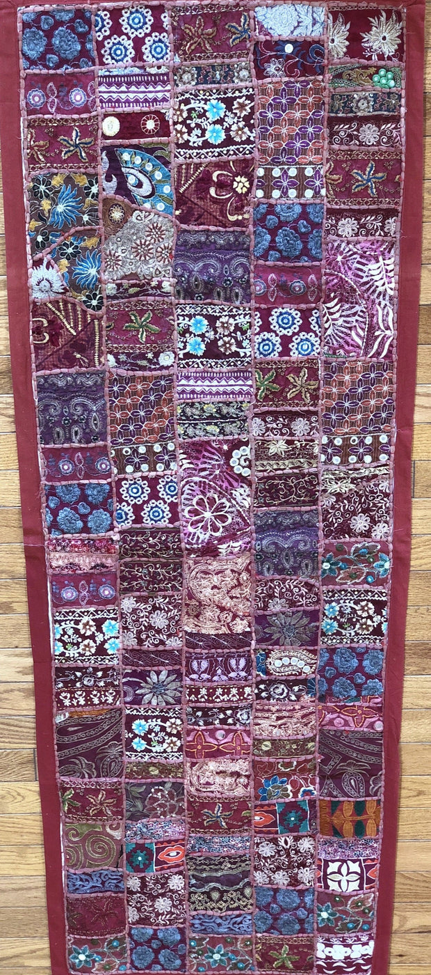 bead patchwork tapestry India