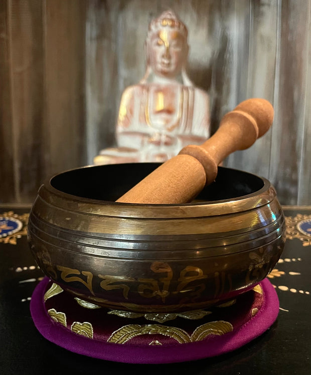 Tibetan Singing Bowl Third Eye