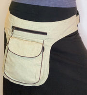 Easy Cotton Utility Belt Hip Bag