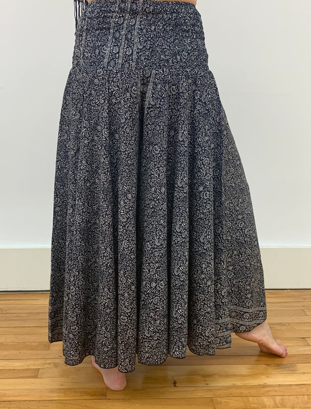 Jala Flowy Wide Leg Pants - Floating Lotus
