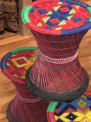 Nepal Cane Stool Larger Size in Stock!