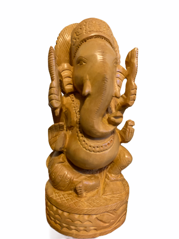 Ganesh Statue Remover of Obstacles - Floating Lotus