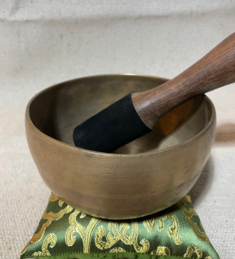 Vintage Jam Bati Heart Chakra Singing Bowl