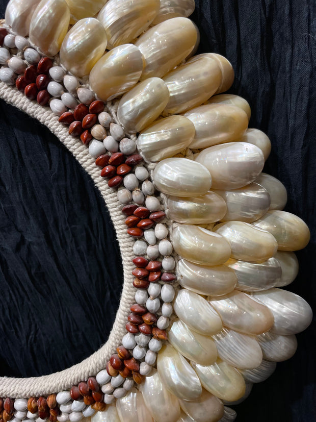 Mother of Pearl Asmat Necklace