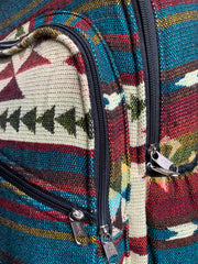 Woven Backpack de Ecuador - Floating Lotus