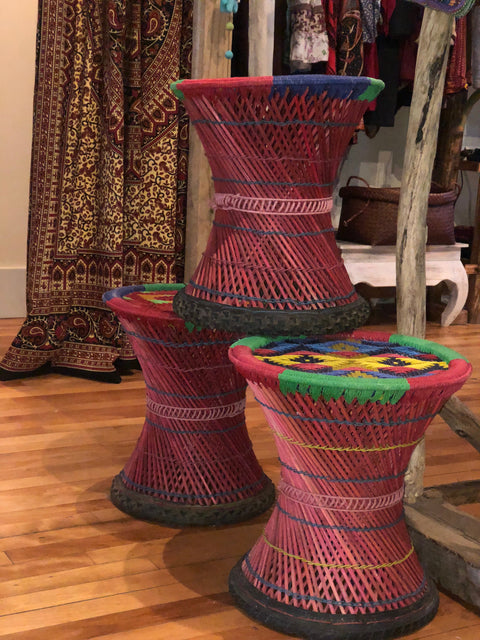Cane Stool Xtra Large Style-Just arrived and In Stock! - Floating Lotus