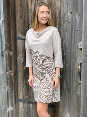 Lotus Mandala Dress - Floating Lotus