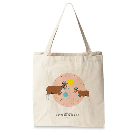 Goat Tote Bag - Square