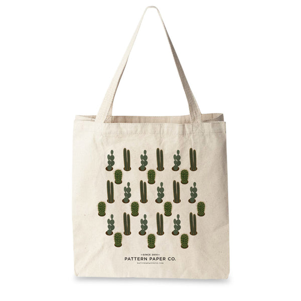Cactus Tote Bag - Square