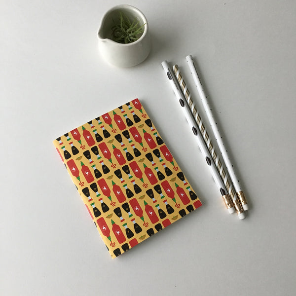 Hot Sauce Pocket Notebook