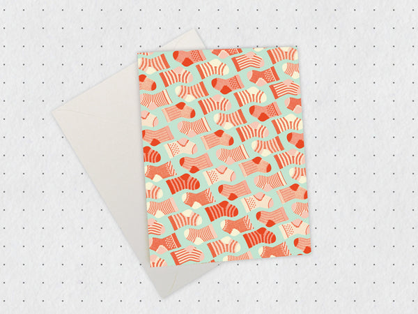 Sock Pattern Card