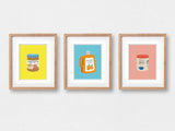 "Orange Juice Art Print (8""x10"") - The Supermarket Series"
