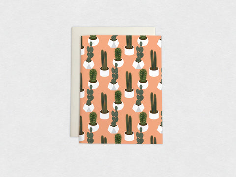 Succulents & Cactus Plants Card (4/4)